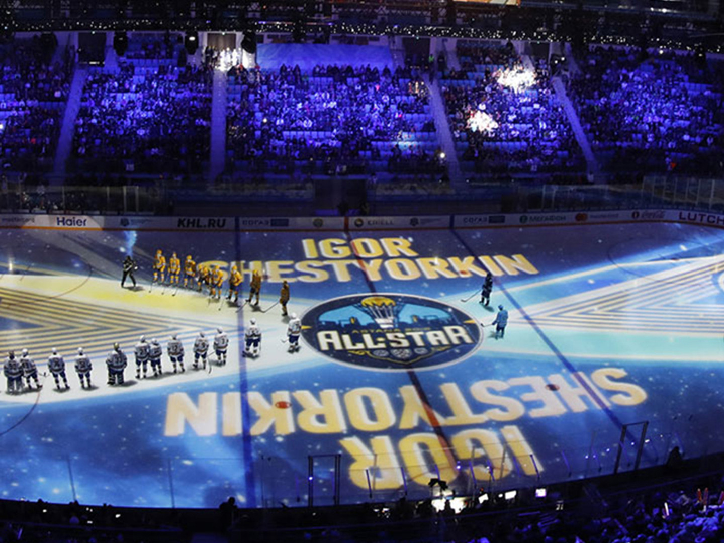 4 PRE-GAME SHOWS ON WEEK OF KHL STARS